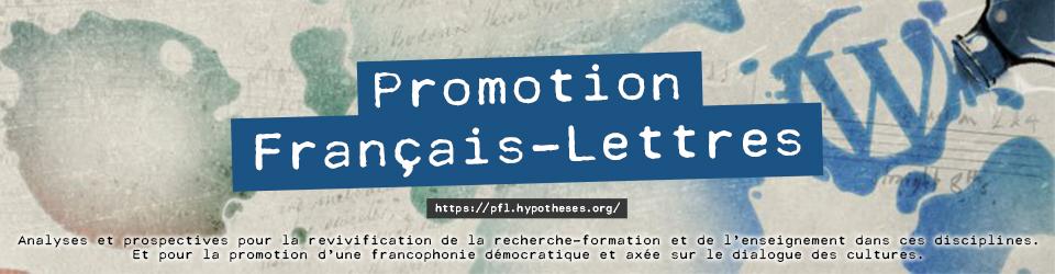 Promotion Français-Lettres